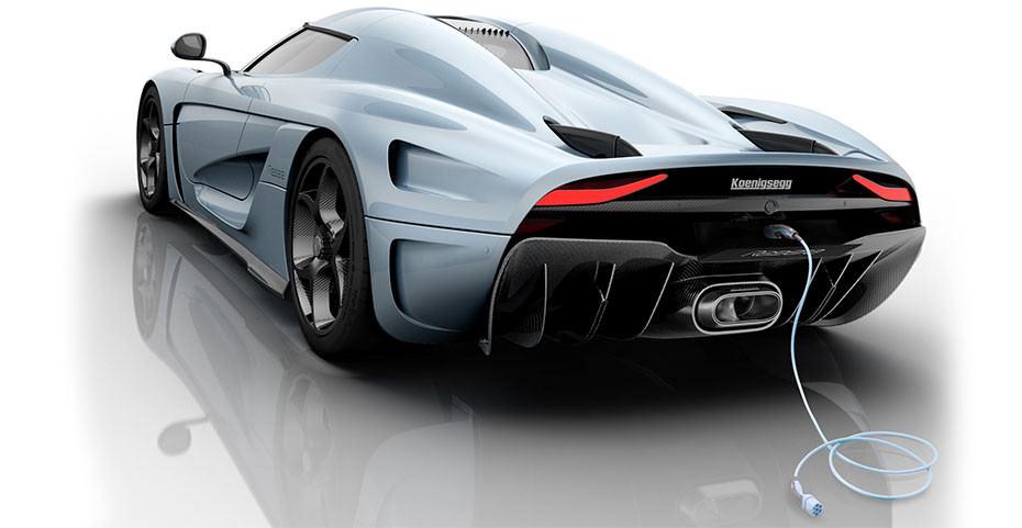Koenigsegg Regera power plug