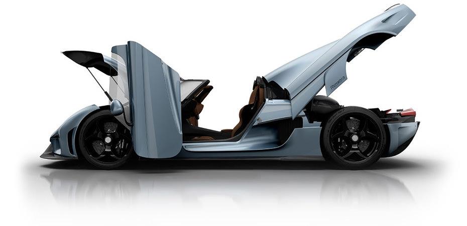 Koenigsegg Regera robotis