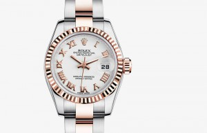 Jam Tangan Mewah Rolex Lady-Datejust 26 Steel & Everose Gold