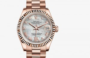 Rolex Lady-Datejust 31 Everose Gold