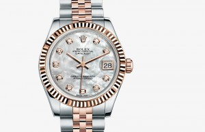 Rolex Lady-Datejust 31 Steel and Everose Gold