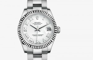 Rolex Lady-Datejust 31 Steel and White Gold