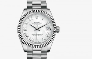 Rolex Lady-Datejust 31 White Gold