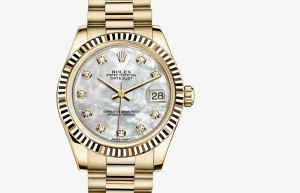 Rolex Lady-Datejust 31 Yellow Gold